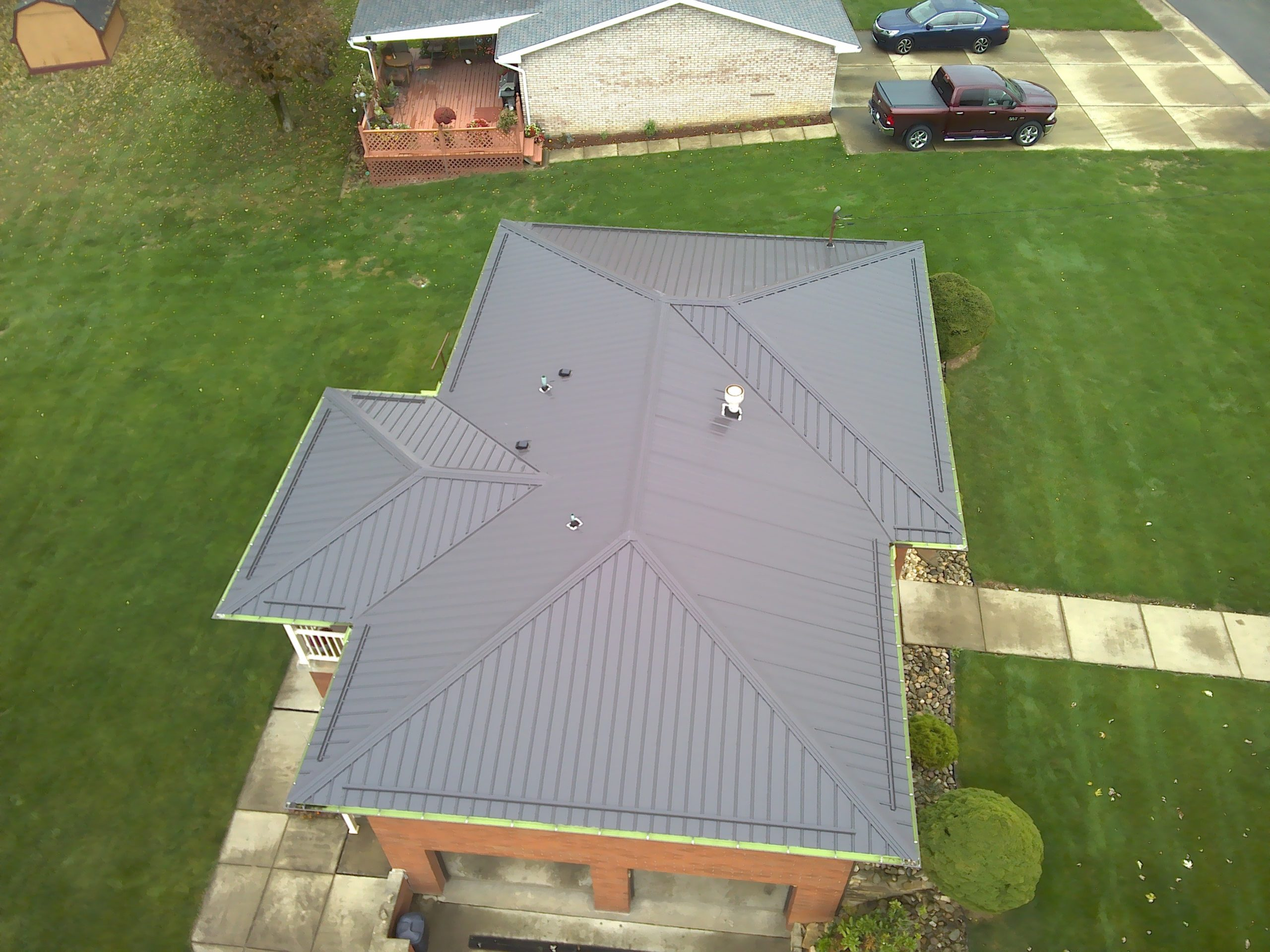 SERVICES Drone Roof Inspection